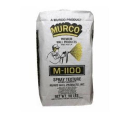 MURCO M1100 Powdered Non-Aggregated Wall Texture - 50 lb Bag