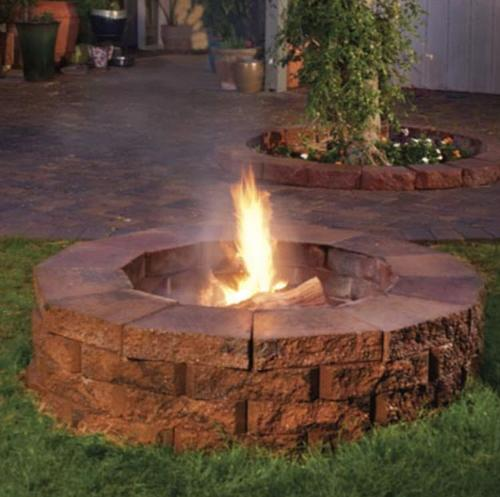 5 ft Phoenix Pavers Fire-Pit Kit at Sun Valley Supply
