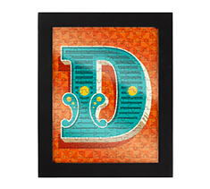 Alphabet Jigsaw D