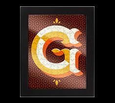 Alphabet Jigsaw G