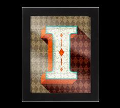 Alphabet Jigsaw I