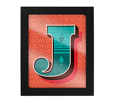 Alphabet Jigsaw J