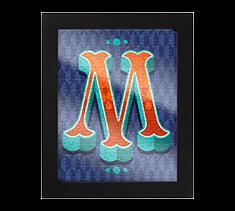 Alphabet Jigsaw M