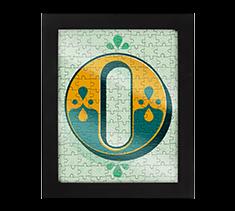 Alphabet Jigsaw O