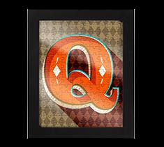 Alphabet Jigsaw Q