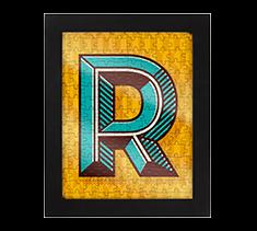 Alphabet Jigsaw R