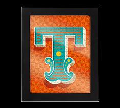 Alphabet Jigsaw T