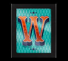 Alphabet Jigsaw W