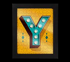 Alphabet Jigsaw Y