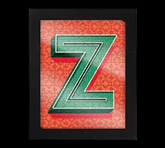 Alphabet Jigsaw Z