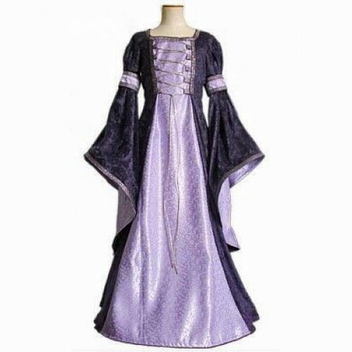 Purple Medieval Dress