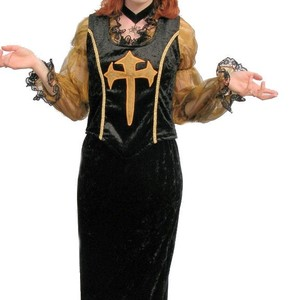 Gold gothic witch