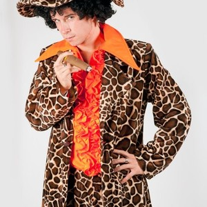 70s giraffe pimp suit