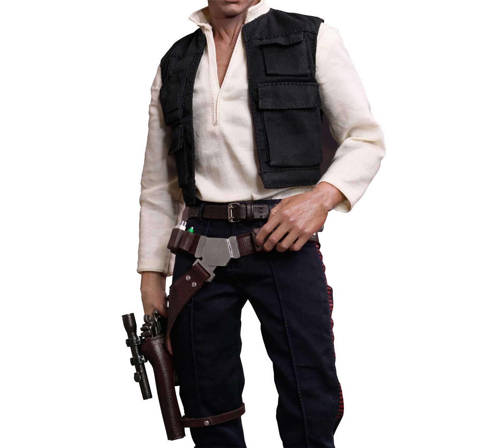 Han Solo Star Wars Costume Hire  Supazaar-7108