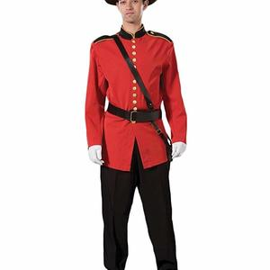 Canadian mountie costume hire supazaar