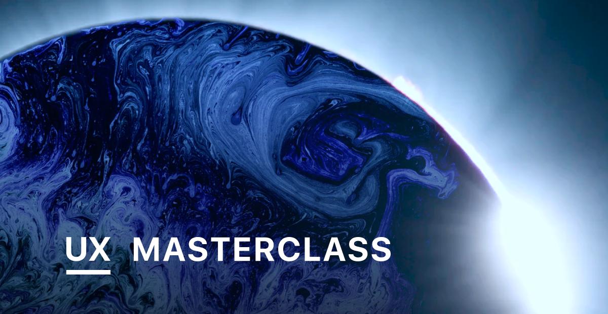UX masterclass.design