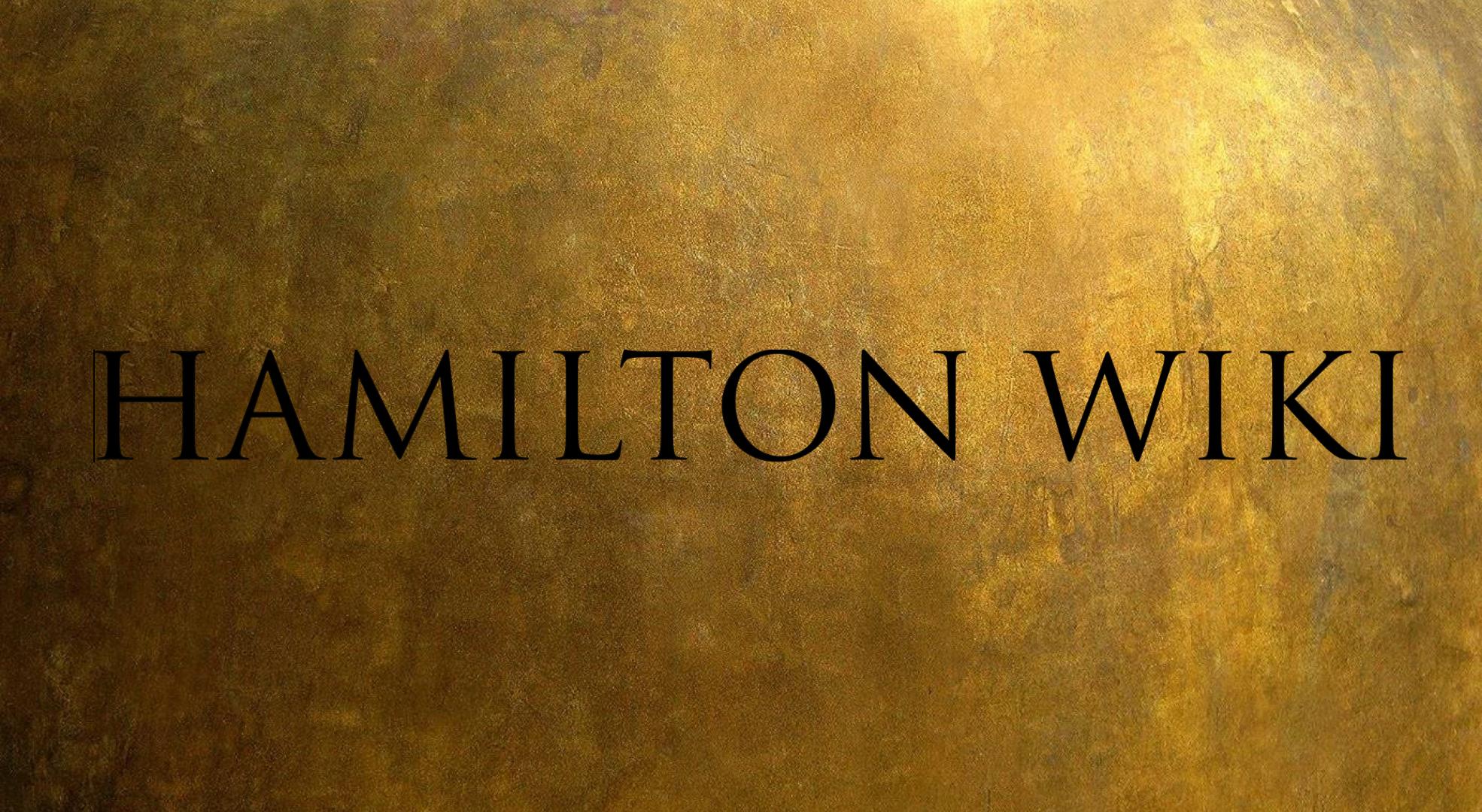 Hamilton Wiki