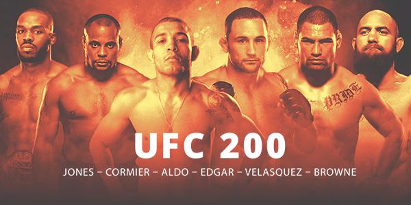 Imagem Ingressos UFC 200