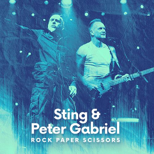 Image Sting & Peter Gabriel