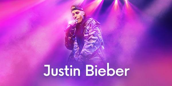 Imagem Ingressos Justin Bieber