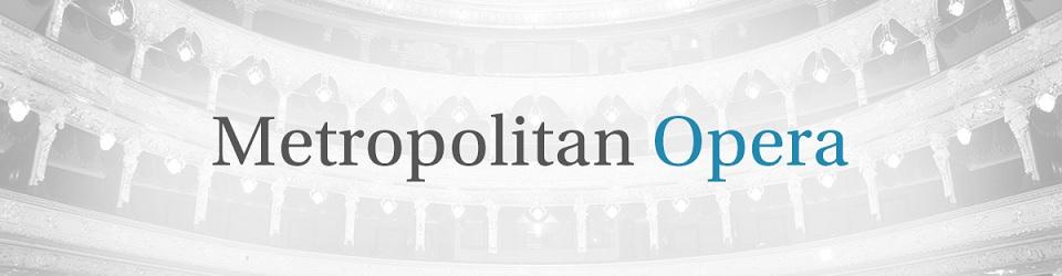 imagen boletos Metropolitan Opera