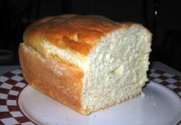 Homemade White Bread, Non-Bread Machine