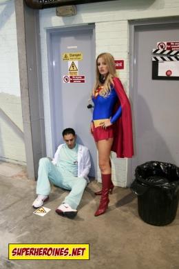 Superwoman Mad Scientist