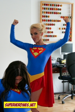 Superwoman Not So Dumb