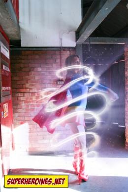 Supergirl transforming