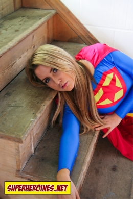 Supergirl is in trouble