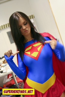 Emma Glover on the Superheroines.net shoot