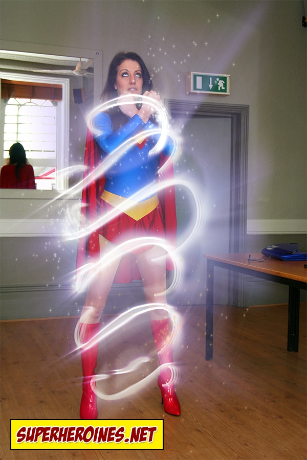 Superwoman - transforming!