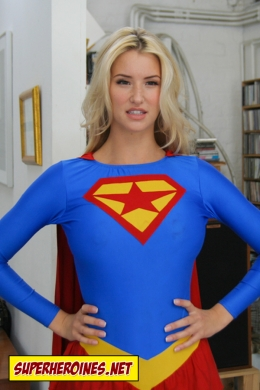 Danica Thrall as Supergirl