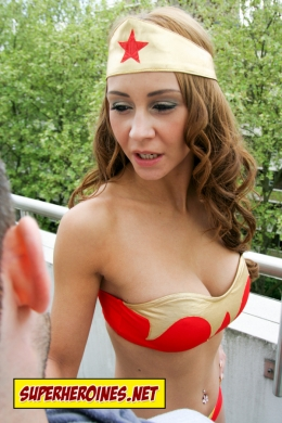 Wonder Woman boob tube