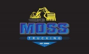 Moss Trucking Logo | Logo Design | Boston, MA | Medford, MA