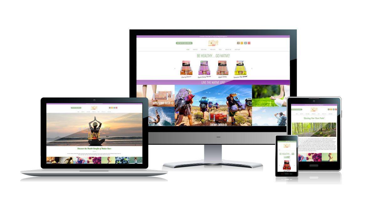 Native Bar | Website Design and Development