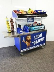 Lexington Christian Academy Snack Cart