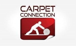 Carpet Connection Logo | Logo Design in Medford, MA
