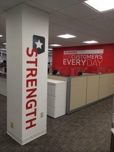 Interior Wall Graphic | Verizon | Large Format Printing | Boston, MA