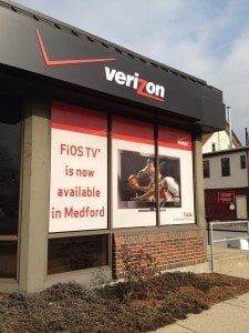 Verizon Wireless Exterior Signage | Large Format Print | Boston, MA | Medford, MA