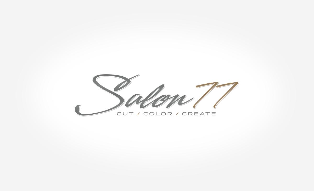 Salon77 | Logo Design | Medford, MA | Boston, MA