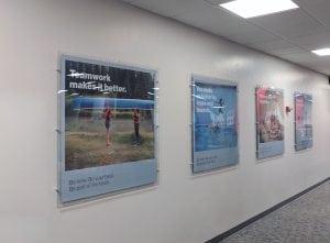 Verizon Philadelphia 4x4 Acrylic Frames & Posters | Display and Large Format Priniting