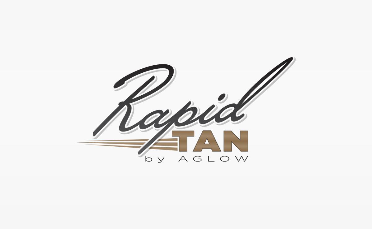 Rapid Tan by Aglow | Logo Design | Medford, MA Boston, MA