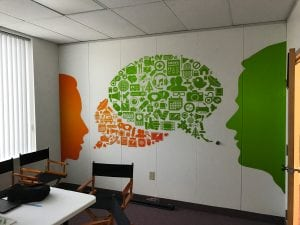 Mind Set Go Wall Graphics