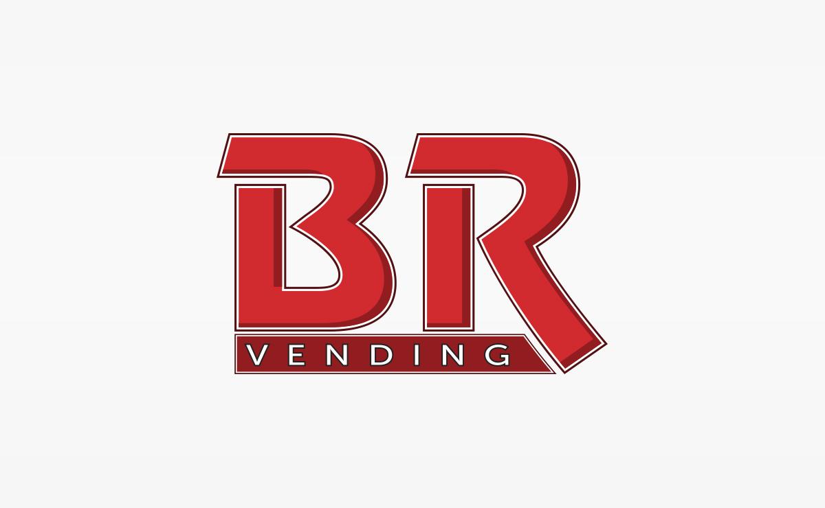 BR Vending Logo | Logo Design | Medford, MA | Boston, MA