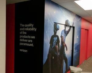Virtual Reality Mural   Verizon   Digital Printing   Boston, Medford