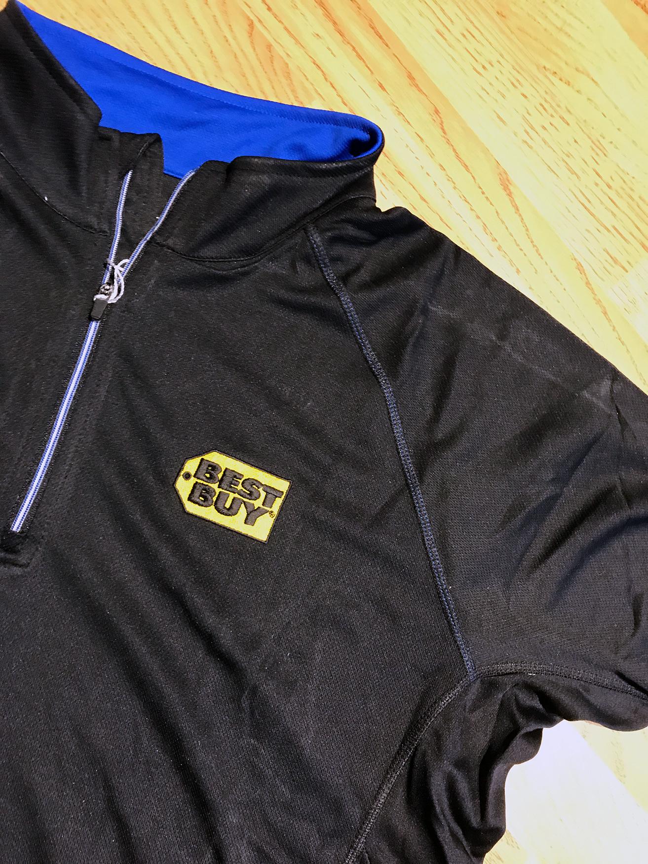 Best Buy Black Pullover | Apparel, Uniforms, Custom Embroidery | Medford, MA