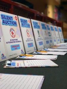Team Nicholas Auction Event Signs