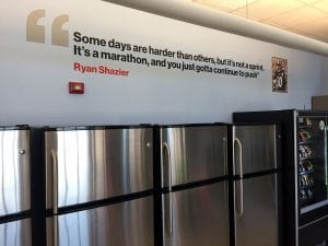 Vinyl Quote from Ryan Shazier