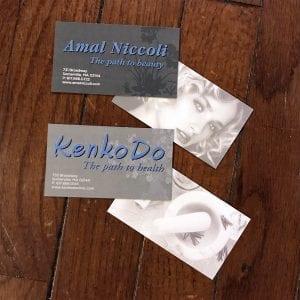 Ama Niccoli KenkoDo Business Cards